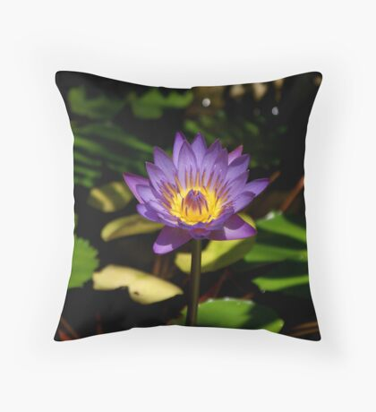 Exotic Bloom Throw Pillow