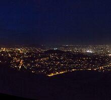 twin peaks view of san francisco, california by stormfish