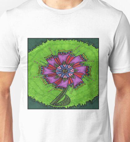 Flower Green Unisex T-Shirt