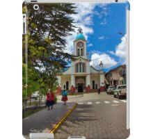 Central San Fernando - Ecuador - Watercolor iPad Case/Skin