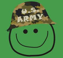 U.S. Army Smiley by diggitydaw