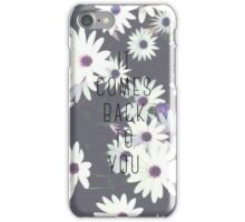 It Comes Back To You Lyrics  iPhone Case/Skin