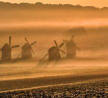 windmills by Valerii Baryspolets