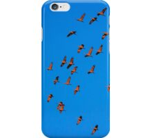 Floating on a Red Carpet iPhone Case/Skin