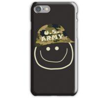 U.S. Army Smiley iPhone Case/Skin