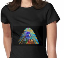 The Magi in Stained Glass - Giron Ecuador Womens Fitted T-Shirt