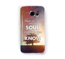 Trouble Lyrics  Samsung Galaxy Case/Skin