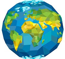 Planet Earth by Evgenii Sidorov