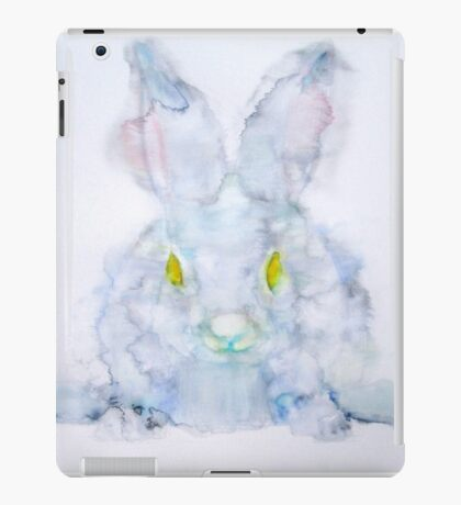 YELLOW EYES RABBIT iPad Case/Skin
