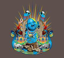 Happy Kustom Kulture Buddha Unisex T-Shirt