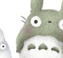 Totoro Buddies Fan Art Sticker