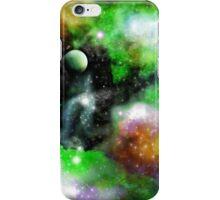 Green Galaxy iPhone Case/Skin