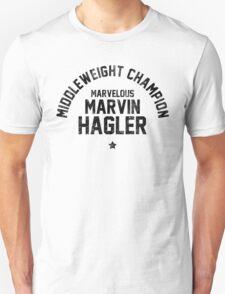 Marvin Hagler - Letterpress T-Shirt