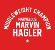 Marvin Hagler - Letterpress Kids Clothes