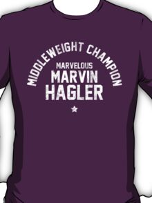 Marvin Hagler - Letterpress T-Shirt
