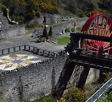 The Snaefell Wheel, Laxey, I.O.M. by wiggyofipswich