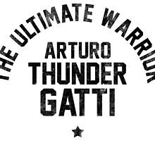 Arturo Gatti - Letterpress by liam175