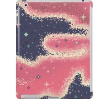 Pink Midnight Galaxy (8bit) iPad Case/Skin