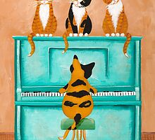 A Purrfect Piano Purrformance by Ryan Conners