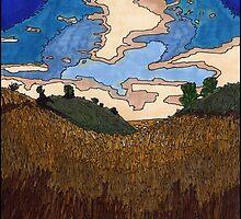 Wheat Field by ZaMoArts