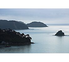 sea stack, Abel Tasman National Park , New Zealand   Photographic Print