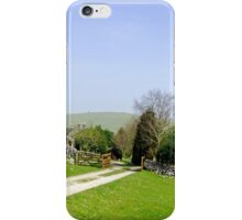Approach to Air Cottage near Ilam  iPhone Case/Skin