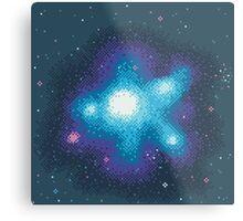 8Bit Galaxies:  Cornflower Nebula Metal Print