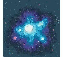 8Bit Galaxies:  Cornflower Nebula Photographic Print