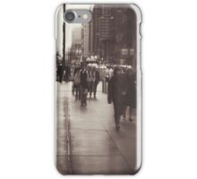 Rush hour, NYC iPhone Case/Skin