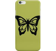 butterfly  papillon cute mignon iPhone Case/Skin