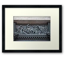 Jesus of entry in Jerusalem Framed Print
