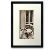 interior smoking room Framed Print