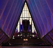 air force academy chapel interior by kmcphersonphoto