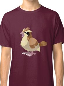 Pidgey Pokemon Simple No Borders Classic T-Shirt