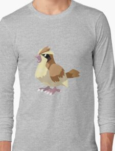 Pidgey Pokemon Simple No Borders Long Sleeve T-Shirt