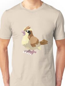 Pidgey Pokemon Simple No Borders Unisex T-Shirt