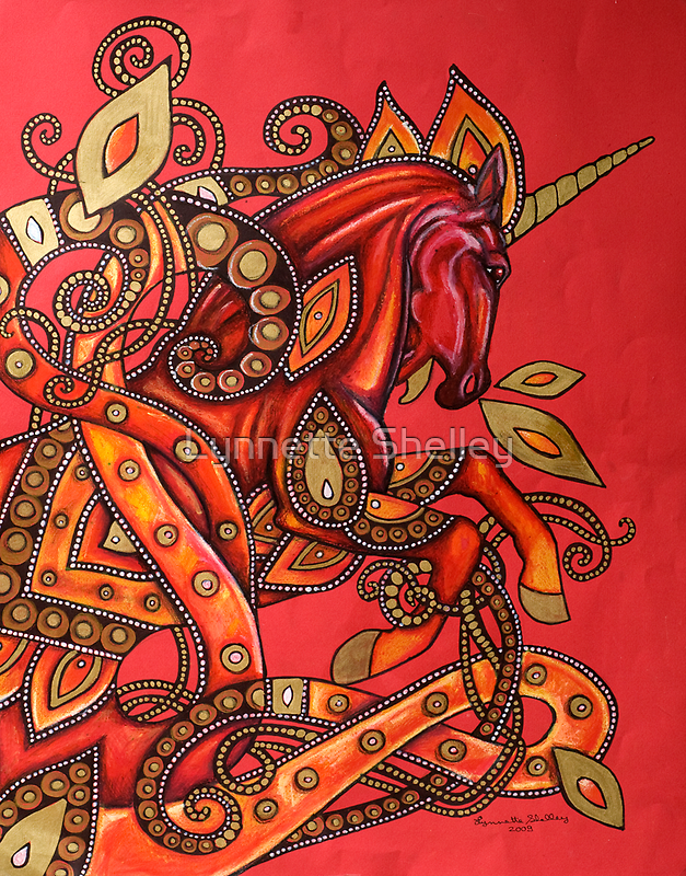 Fire Horse by Lynnette Shelley