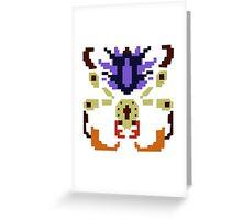 Monster Hunter - Nerscylla Icon Greeting Card