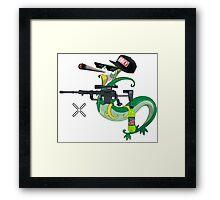 MLG Pokemon Seperior Art Framed Print