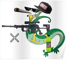 MLG Pokemon Seperior Art Poster