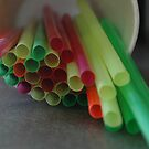 drinking straws by kmcphersonphoto