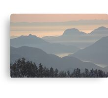 Howe Sound from Diamond Head, British Columbia , Canada Canvas Print