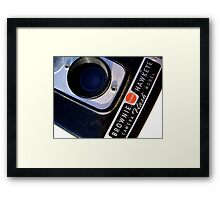 Kodak Brownie Detail Framed Print