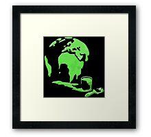 Let's Paint the World Green! Framed Print