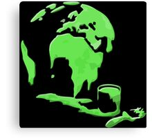 Let's Paint the World Green! Canvas Print