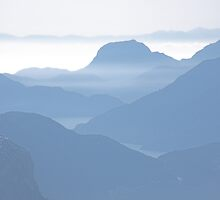 Howe Sound haze , British Columbia , Canada by Christopher Barton
