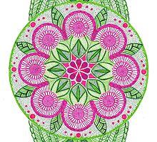 Flower Mandala by uhlenhopp