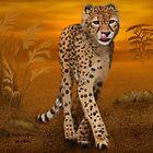 Cheetah In Africa by JaneEden