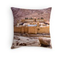Saint Catherine's Monastery  Throw Pillow