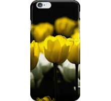 Tulips Yellow And White iPhone Case/Skin